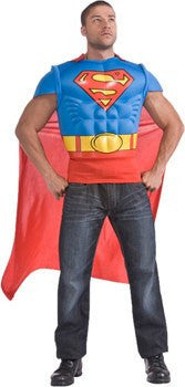 Costume - Superman Shirt And Cape