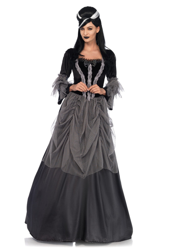 Costume - Velvet Victorian Ball Gown Costume