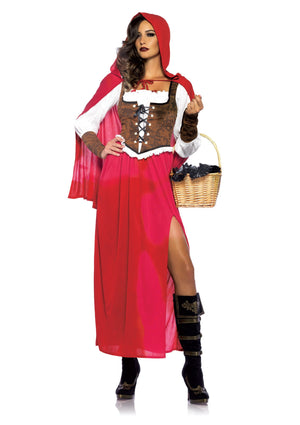 Costume - Woodland Red Riding Hood Costume - Little Red Riding Hood