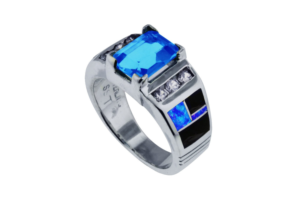 Jewelry - Beautiful David Rosales Blue Topaz Ring