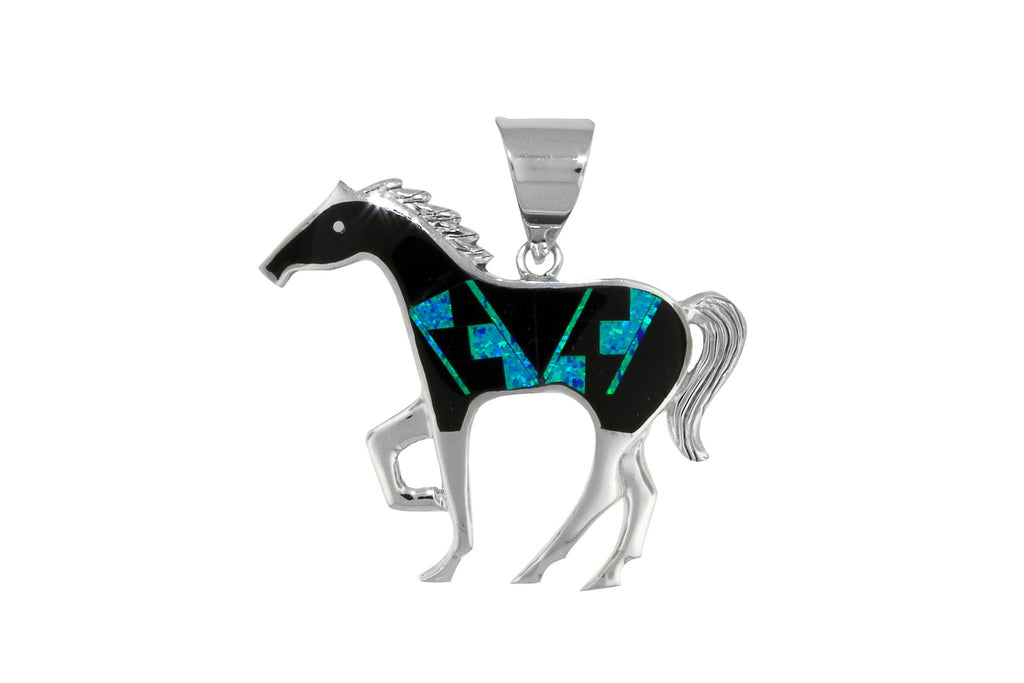 Jewelry - David Rosales Black Beauty Horse Pendant
