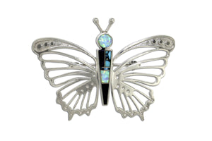 Native American Jewelry - David Rosales Butterfly Pendant