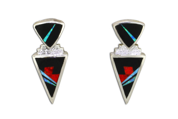 Jewelry - David Rosales Inlay Earrings