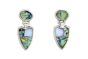 Native American Jewelry - David Rosales Rio Verde Earrings