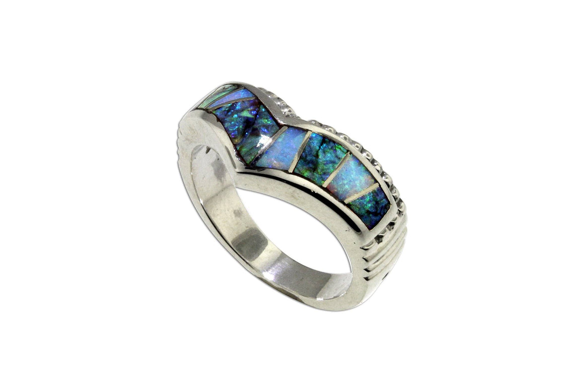 David Rosales Rio Verde Ring - Native American Jewelry