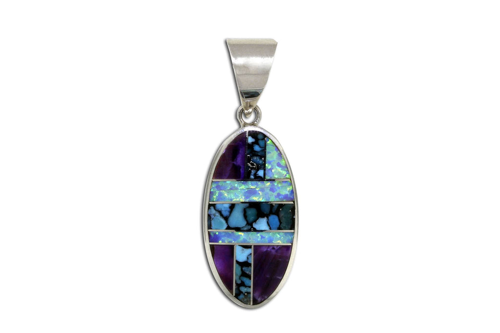 Native American Jewelry - David Rosales Shalako Pendant