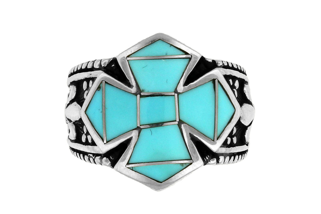 Jewelry - David Rosales Turquoise Cross Ring