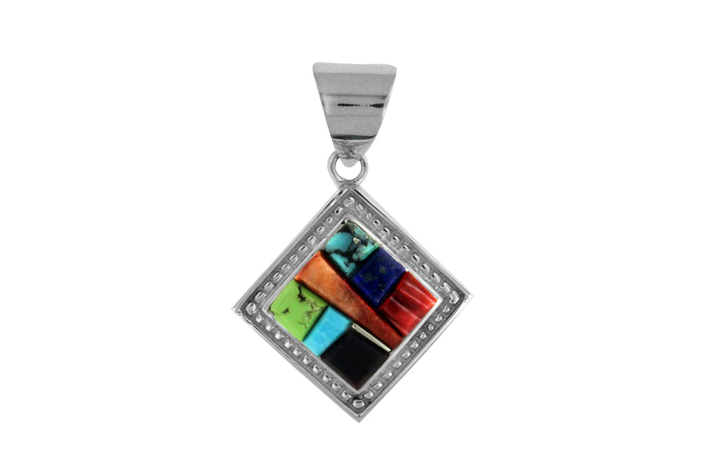 Jewelry - Native American Inlaid Pendant By David Rosales