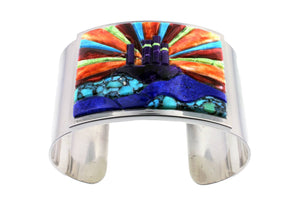 David Rosales Sunburst Bracelet - Native American Jewelry