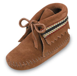 Moccasin - Braid Bootie