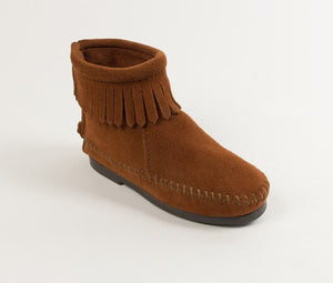 Moccasin - Children's Back Zipper Boot