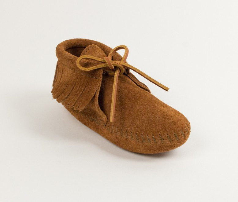 Moccasin - Children's Classic Fringe Boot