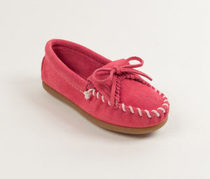Moccasin - Children's Kilty Suede Moccasin