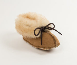 Moccasin - Genuine Sheepskin Bootie