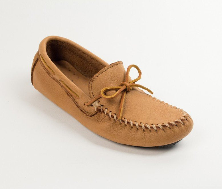 Moccasin - Men's Moosehide Driving Moc In XL