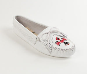 Moccasin - Thunderbird Softsole In Smooth Leather By Minnetonka