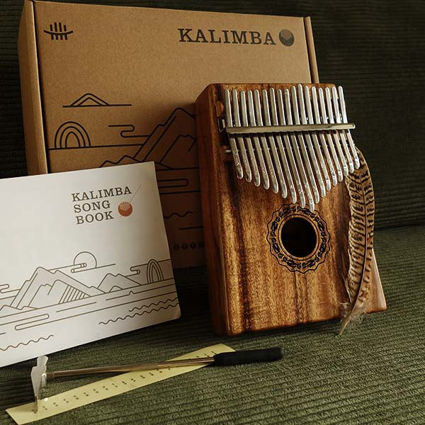Pack inclus kalimba