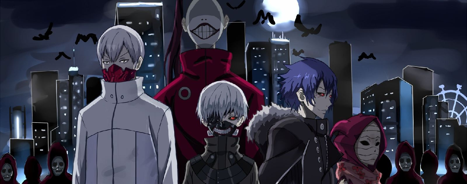 Personnages Tokyo Ghoul