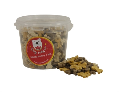 Dog Treatz Inimini/Puppy 3 Mix 870 ML 400 GR