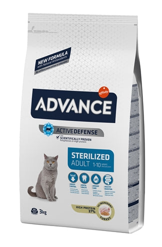 Advance cat sterilized turkey