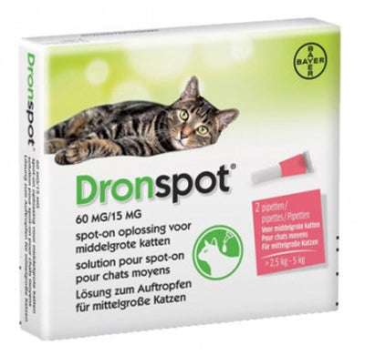 Bayer dronspot kat spot on