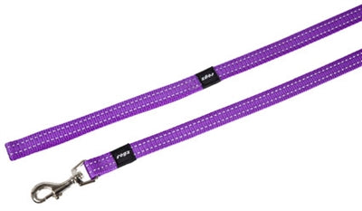 Rogz For Dogs Snake Long Lijn Paars 16 MMX1,8 MTR
