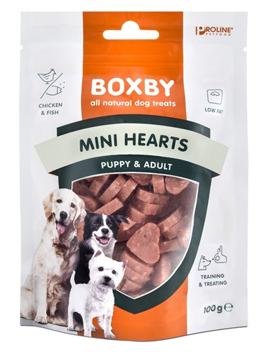 Proline Puppy Boxby Mini Hearts 100 GR