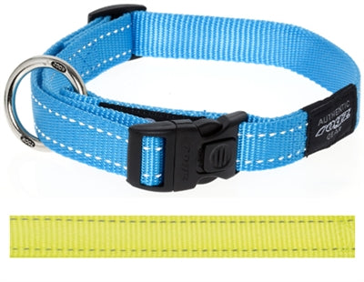 Rogz For Dogs Snake Halsband Geel 16 MMX26-40 CM