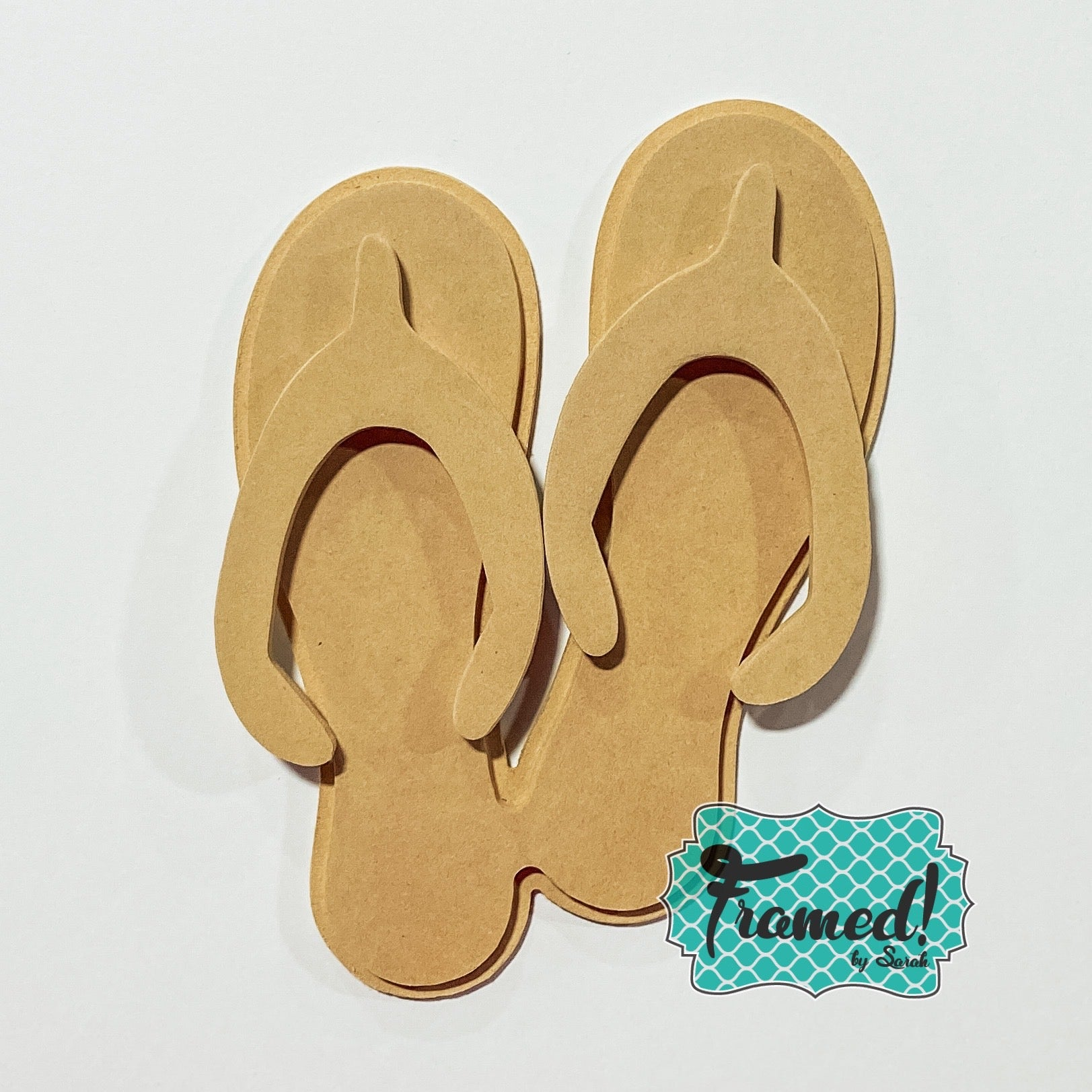 DIY Blank Flip Flop Attachment