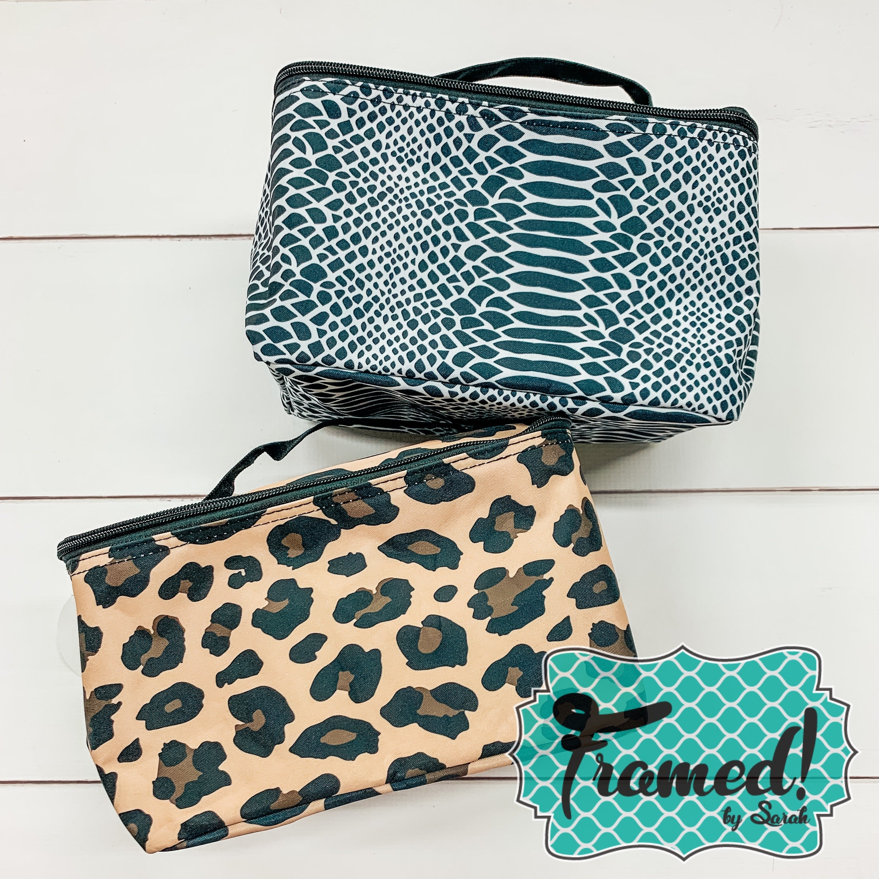 Cosmetic Bag with Handles