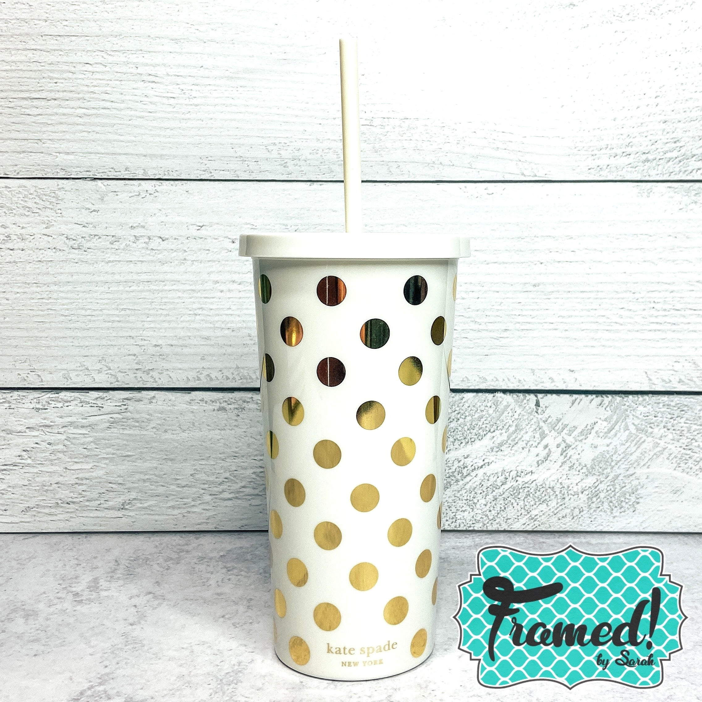 kate spade Gold Dots Cup