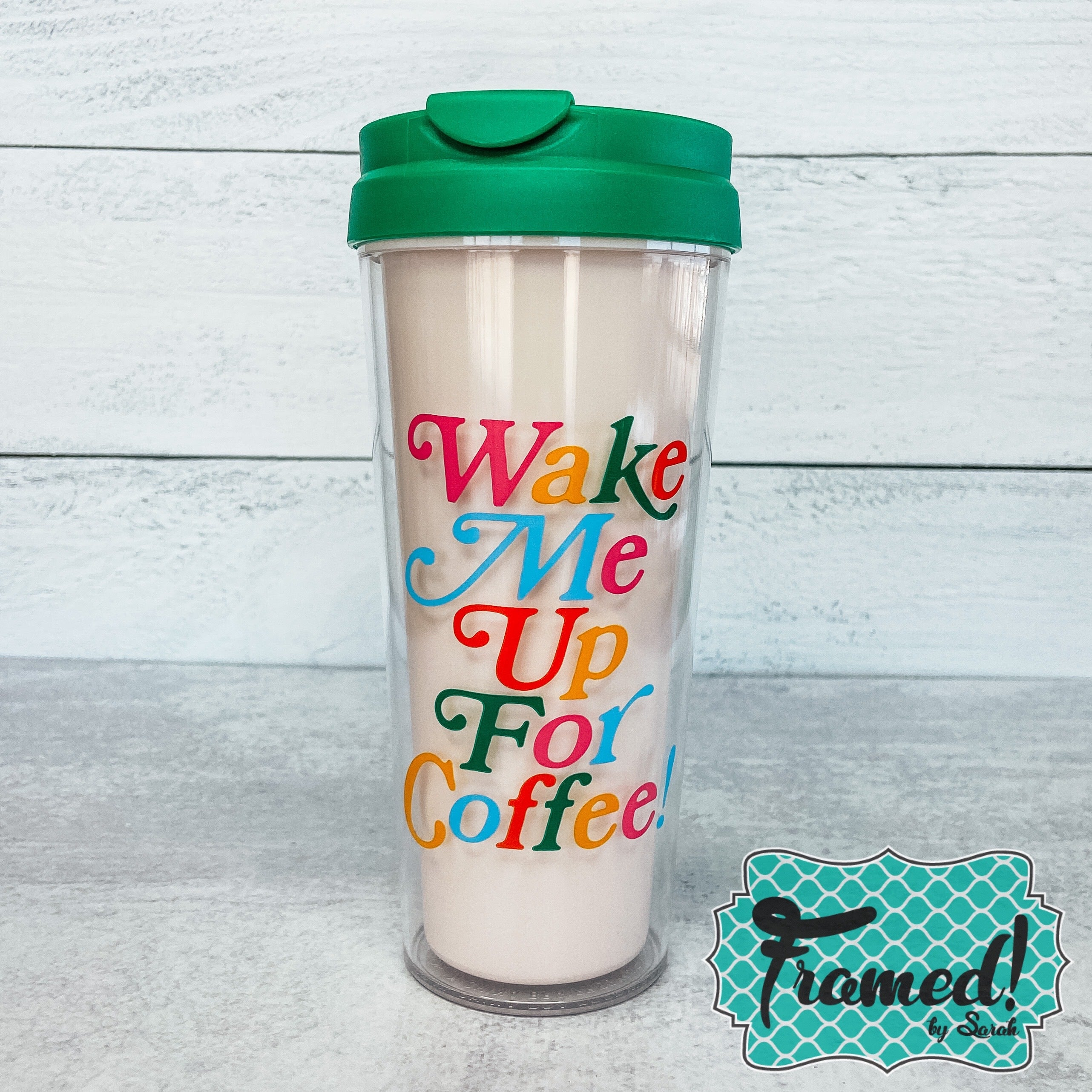 Wake me up for Coffee Thermal Mug