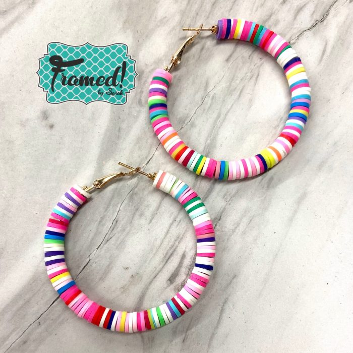 Candy Disc Earrings