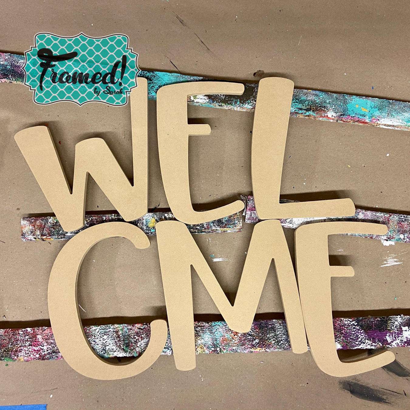 DIY Welcome Letters