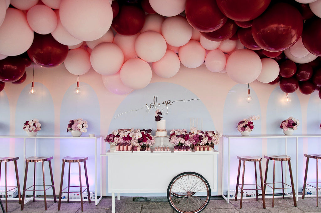 BALLOON-FILLED FIRST BIRTHDAY PARTY