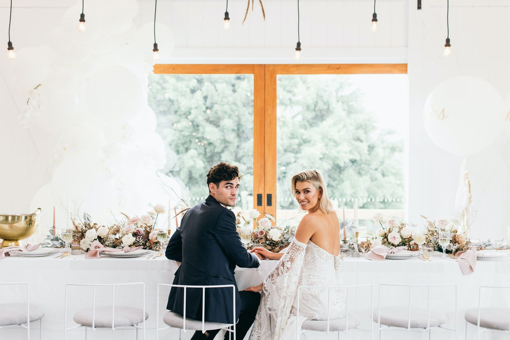 A MINIMALIST MODERN WEDDING AT SUMMERGROVE ESTATE