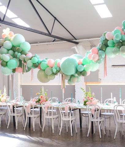 Sea of Green Baby Shower
