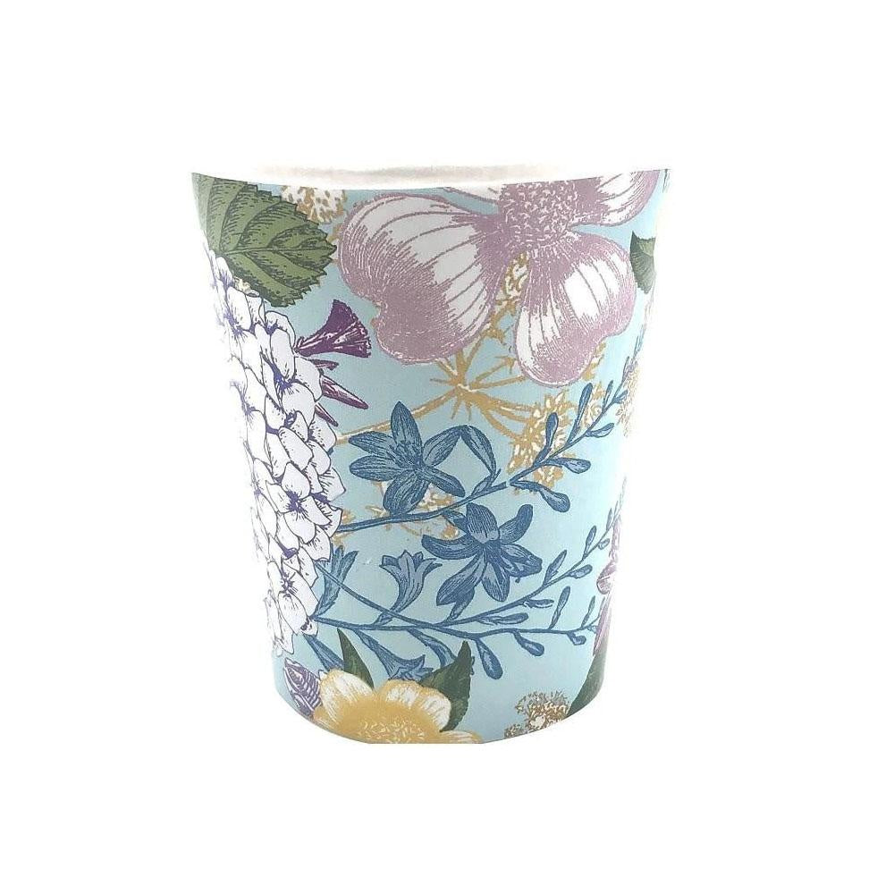 Botanical Floral Cups
