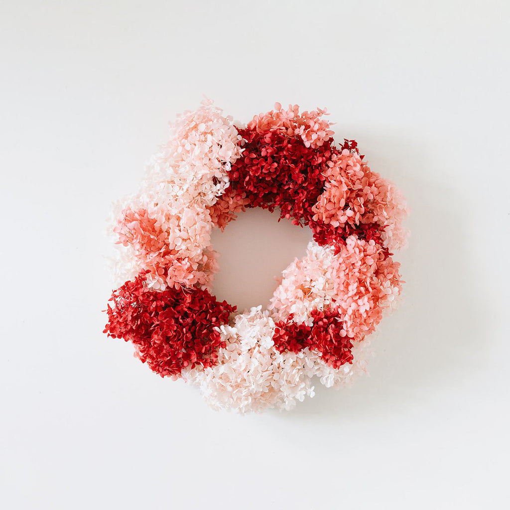 Cocktails and Candy Canes Wreath