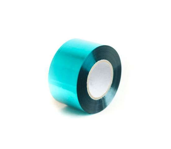Foil Ribbon (40mm x 100m) Metallic Teal