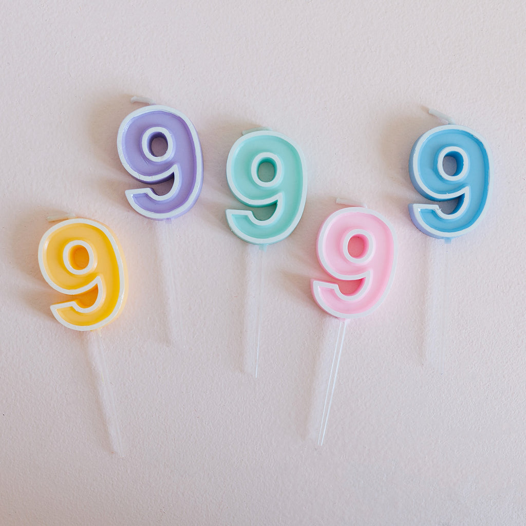 Number Candle - 9