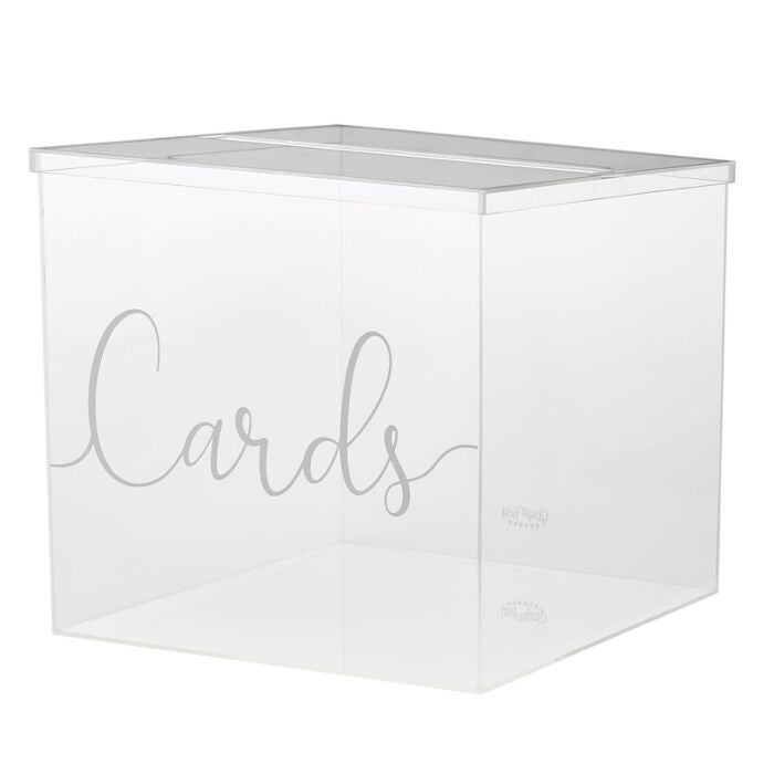 Wedding Acrylic Card Box