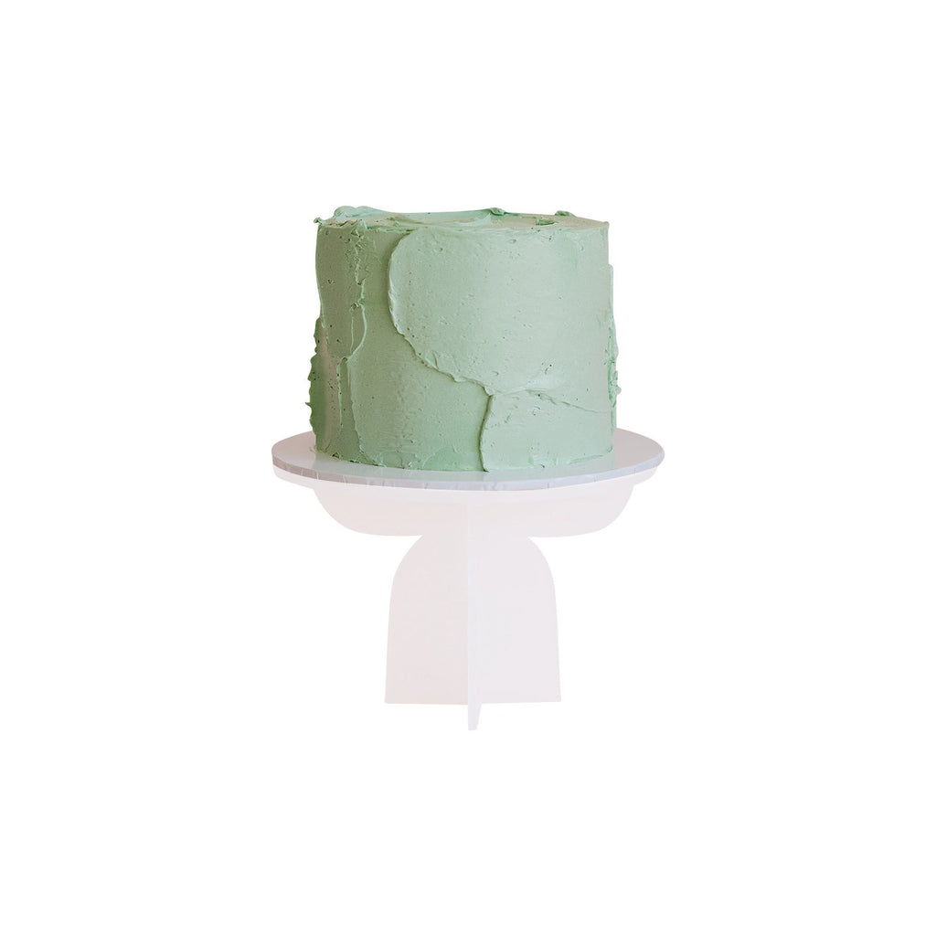 Pastel Green Colour Block Cake