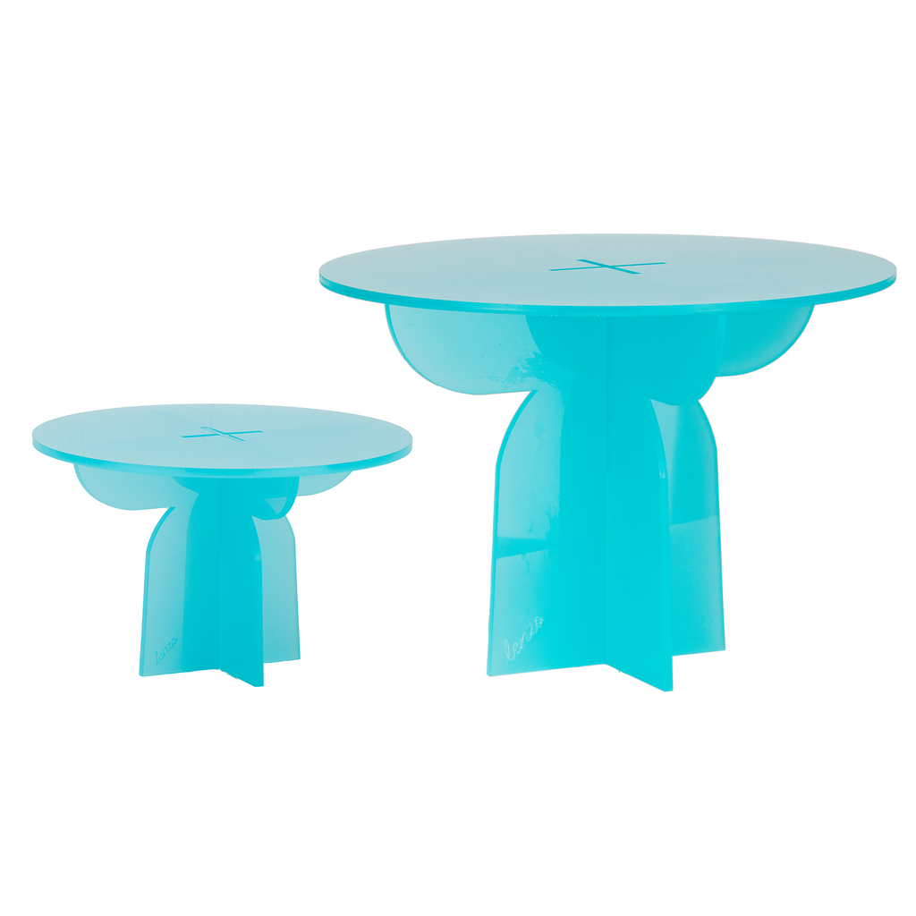Small Cake Stand - Blue