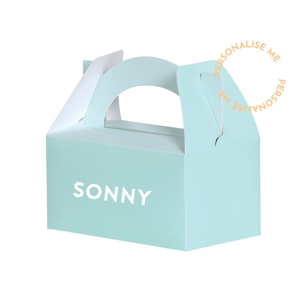 Lunch Boxes - Mint (Personalise)| Pack of 5