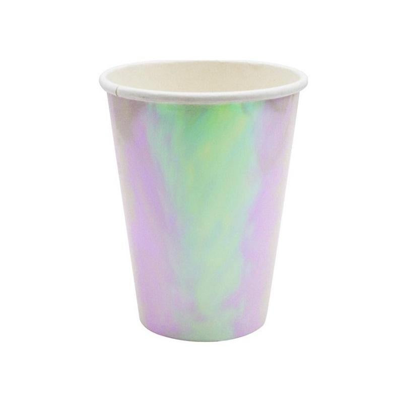 Iridescent Paper Cup - Pack of 10