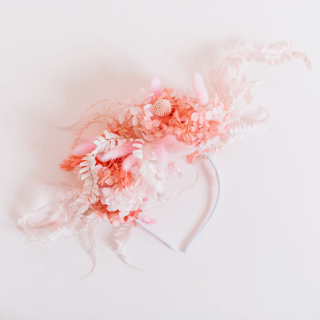 Pretty Pink Flower Crown