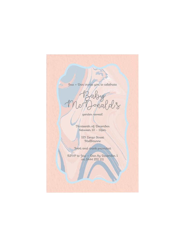 Gender Reveal 1 E-Invitation