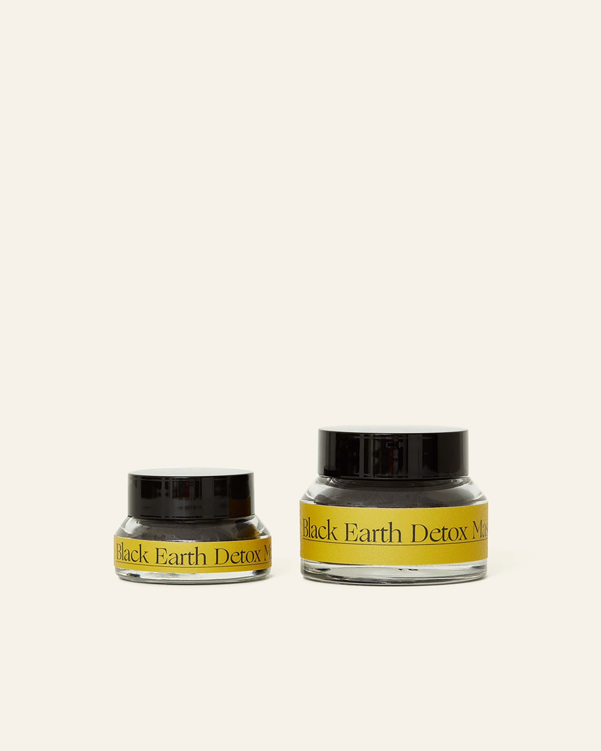 Black Earth Detox Mask.