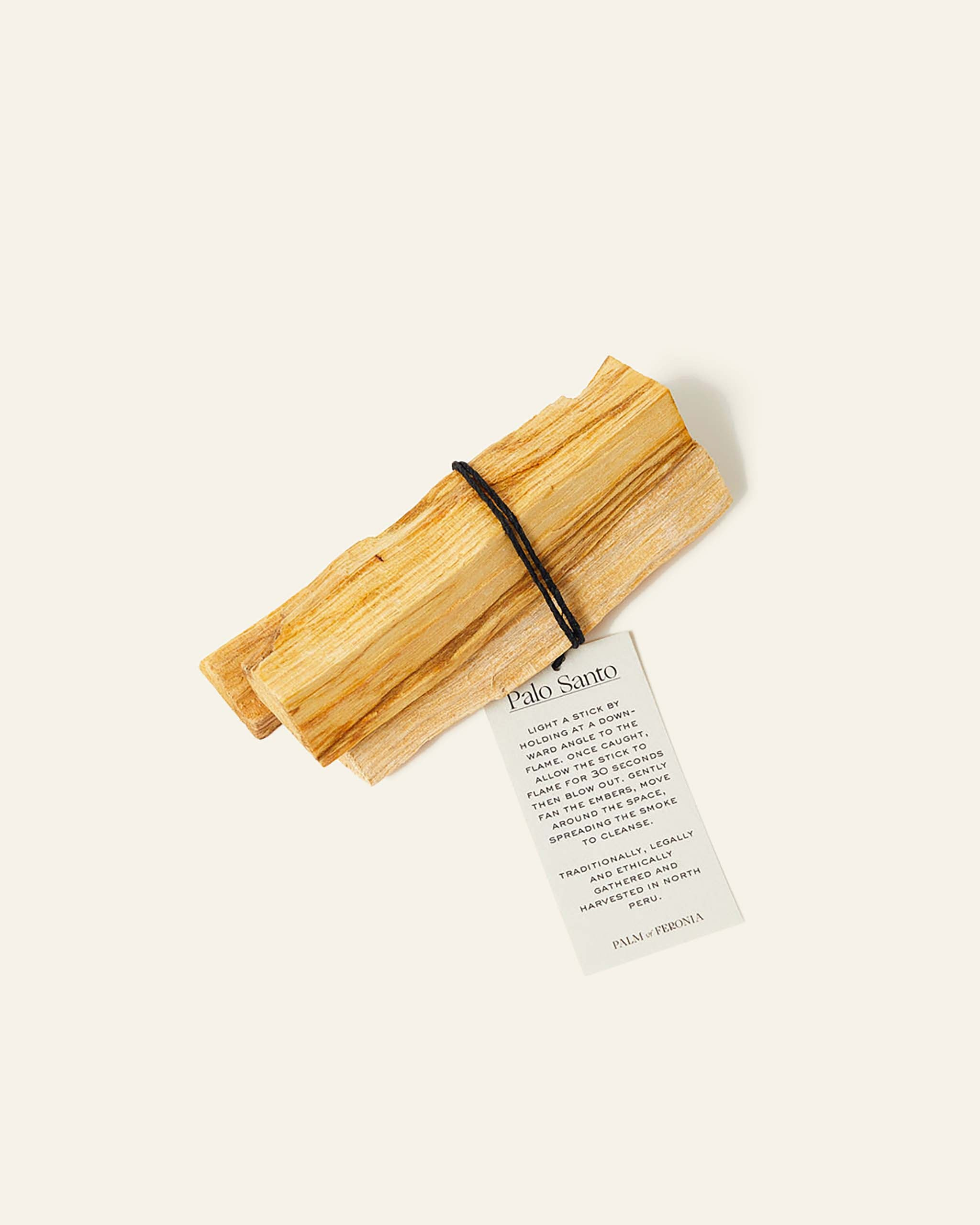 Fairtrade Palo Santo Incense Bundle.